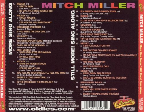 More Sing-Along with Mitch/Still More! Sing-Along