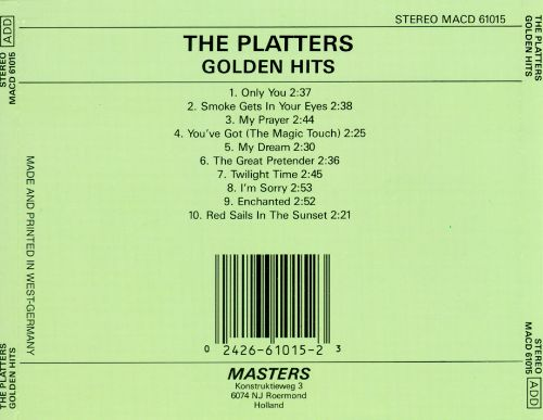 The Platters Golden Hits