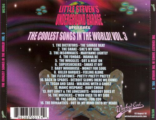 The Coolest Songs in the World, Vol. 3