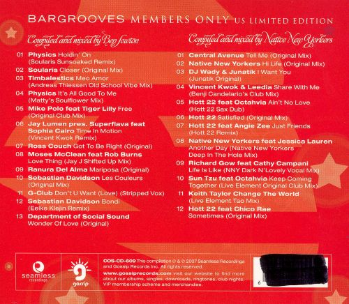 Bargrooves: Members Only 2