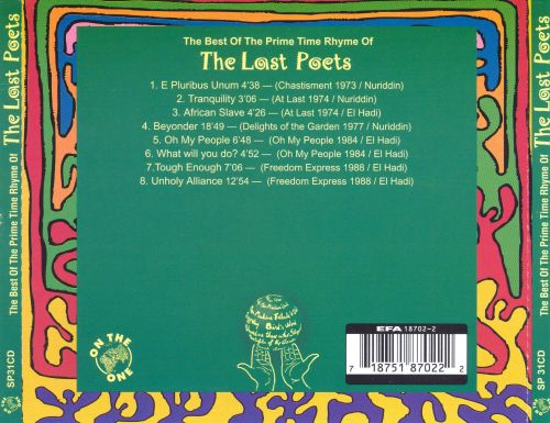 The Prime Time Rhyme of the Last Poets, Vol. 2