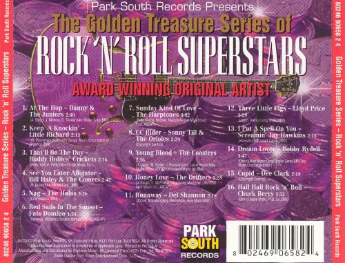 Golden Treasure: Rock 'n' Roll Superstars