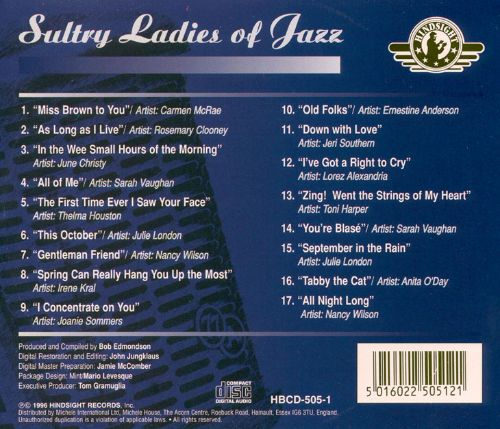 Sultry Ladies of Jazz