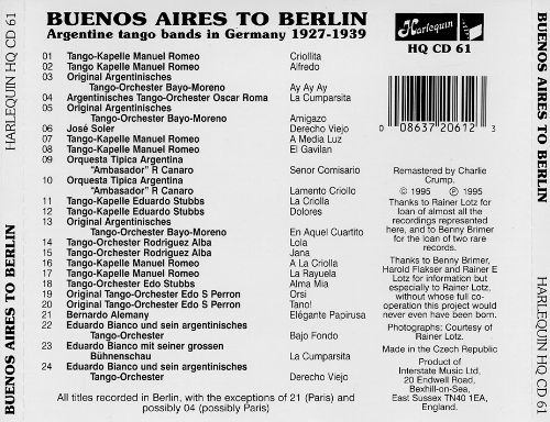Buenos Aires to Berlin