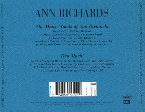 Many Moods of Ann Richards/Two