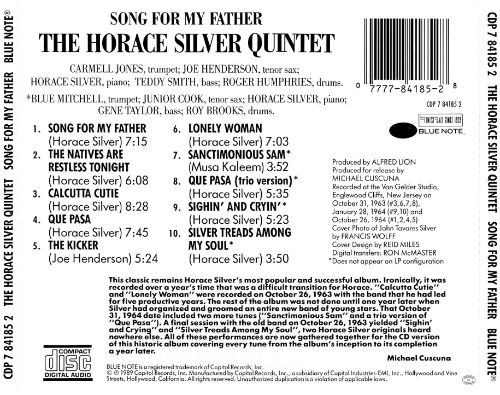 song for my father horace silver file