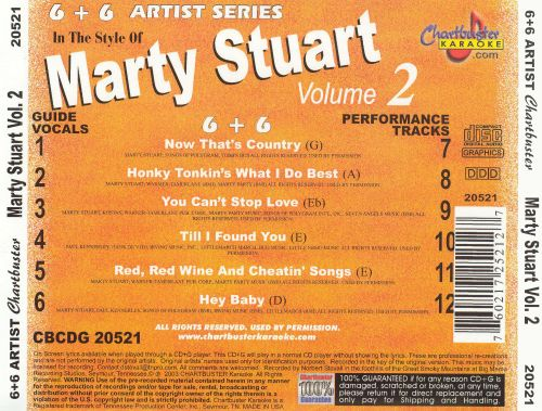 In the Style of Marty Stuart, Vol. 2