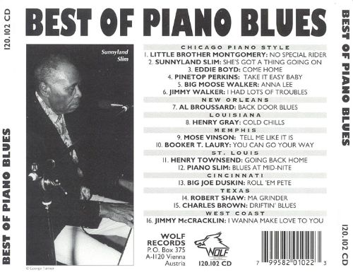 Best of Piano Blues