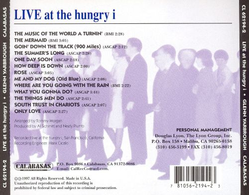 Live at the hungry i