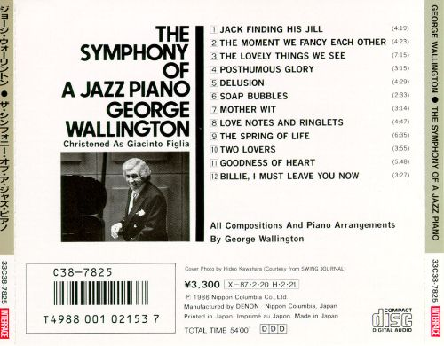 The Symphony of a Jazz Piano