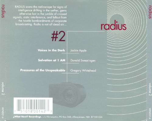 Radius #2: Transmissions from Broadcast Artists