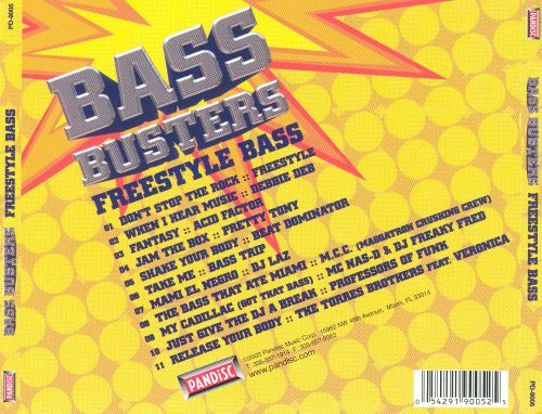 Bass Busters: Freestyle Bass