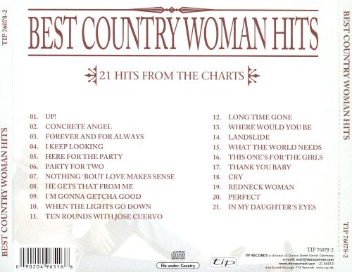 Best Country Woman Hits