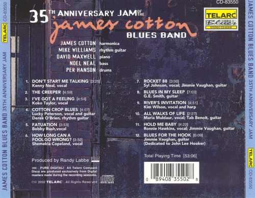 35th Anniversary Jam of the James Cotton Blues Band
