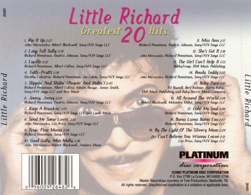 20 Greatest Hits [Platinum Disc]