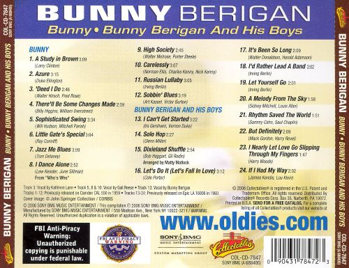 Bunny/Bunny Berigan and His Boys