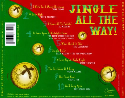 Jingle All the Way! Best-Loved Holiday Favorites Sung by Top Stars