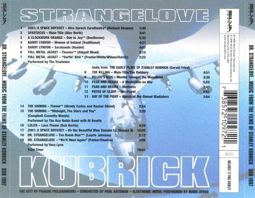 Dr. Strangelove: Music from the Films of Stanley Kubrick