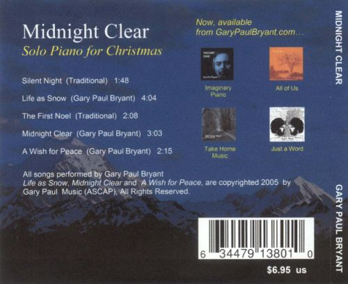 Midnight Clear: Solo Piano for Christmas