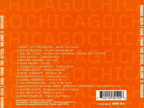 Soul from the Cities, Vol. 2: Chicago