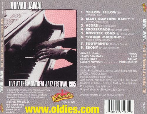 Live at the Montreal Jazz Festival 1985