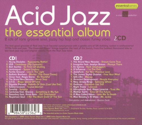 Acid Jazz: The Essential Album