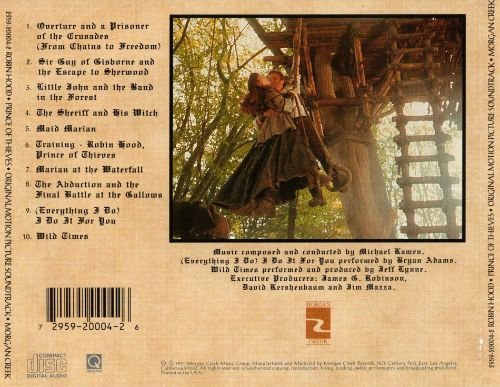 robin hood prince of thieves original motion picture