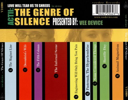 Love Will Tear Us to Shreds, Act II: The Genre of Silence