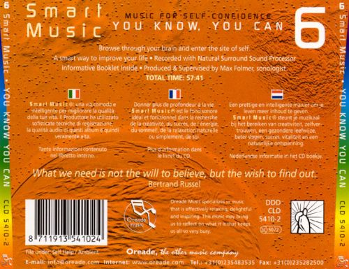 Smart Music, Vol. 6: You Know, You Can