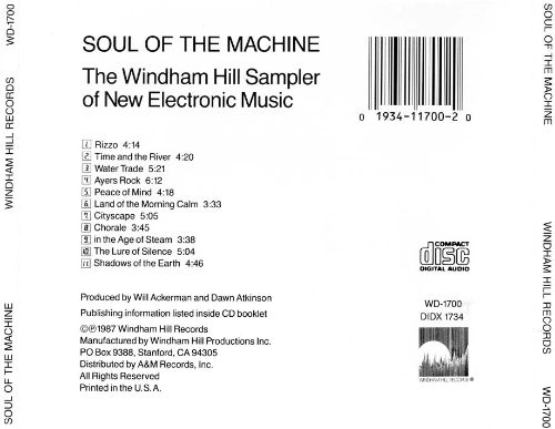 Soul of the Machine: The Windham Hill Sampler of New Electronic Music