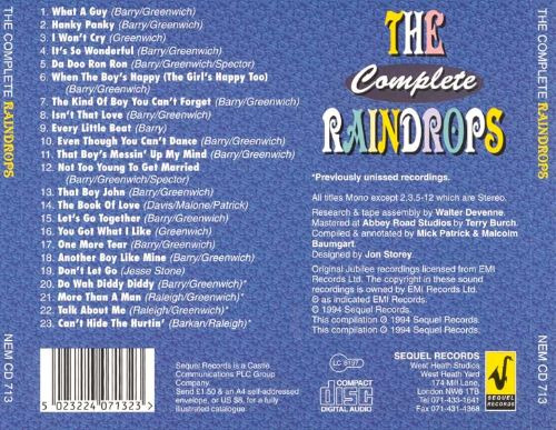 The Complete Raindrops