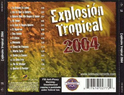 Explosion Tropical 2004