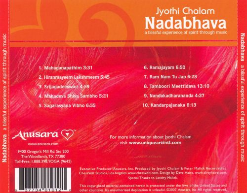 Nadabhava: A Blissful Experience of Spirit Through Music