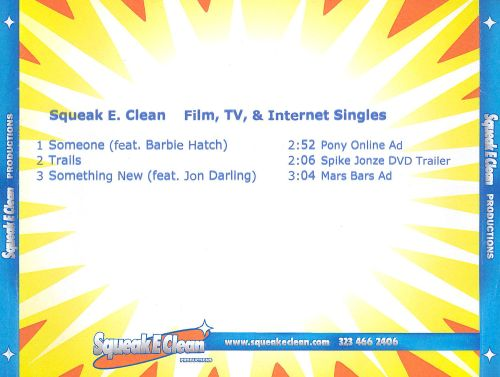 Film, TV & Internet Singles