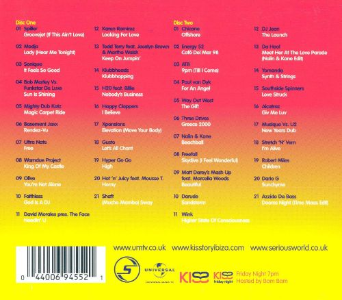 Kisstory ibiza classics various artists songs reviews for House classics album