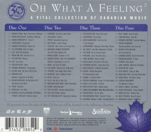 Oh What a Feeling, Vol. 2: A Vital Collection of Canadian Music