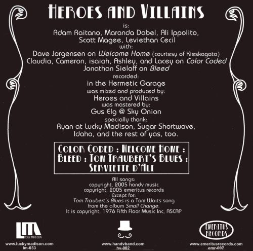 Heroes and Villains EP