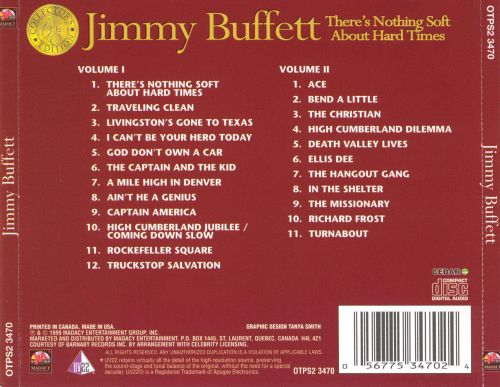 Collector's Edition: There's Nothing Soft About Hard Times, Vol. 1 & 2 [2 CD]