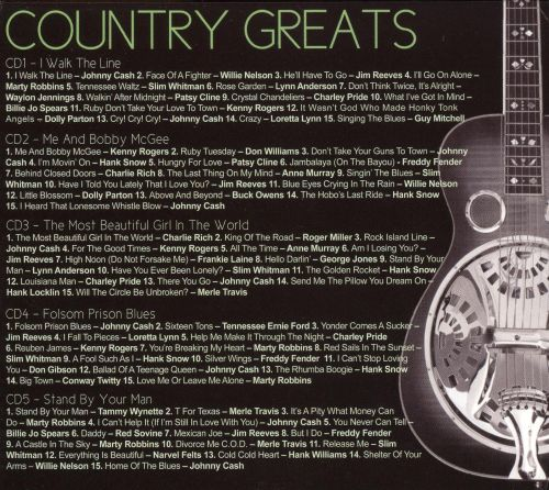 Country Greats [Delta]