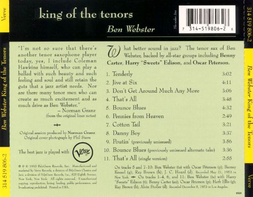King of the Tenors