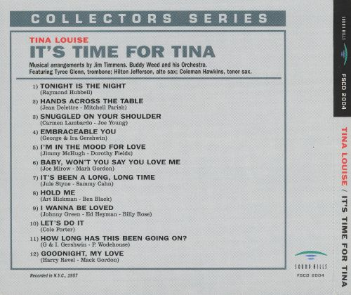 It's Time for Tina