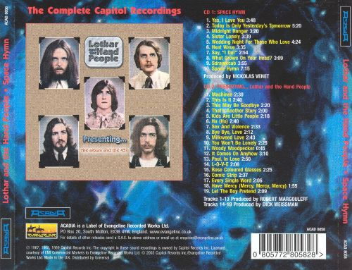 Space Hymn (The Complete Capitol Recordings)
