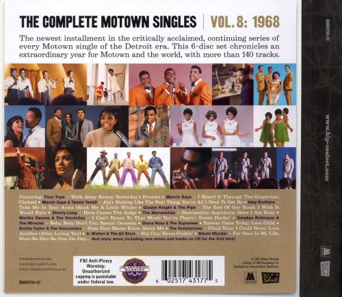 The Complete Motown Singles, Vol. 8: 1968
