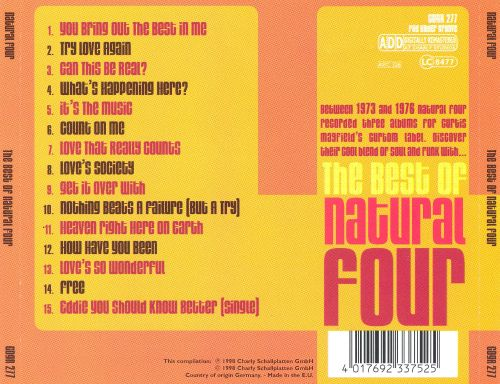 The Best of Natural Four
