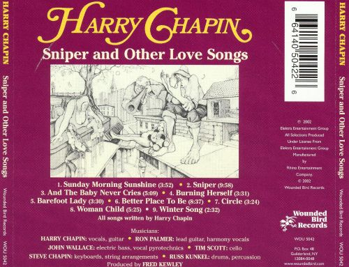 Sniper & Other Love Songs