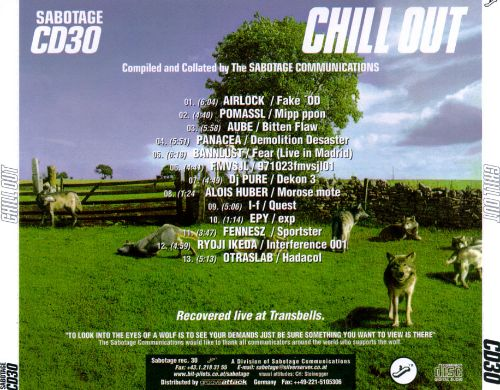 Chill Out [Sabotage]