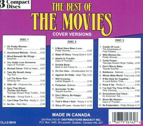 The Best of the Movies [Box Set]