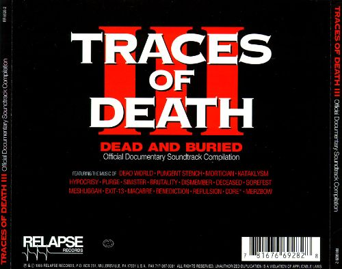 Traces of Death, Vol. 3: Dead and Buried