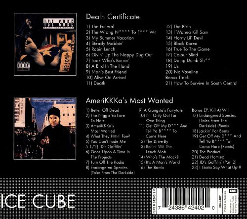 Death Certificate/AmeriKKKa's Most Wanted