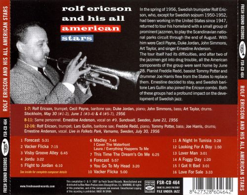 Rolf Ericson and His American All Stars